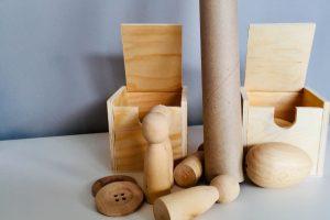 Alltagsgegenstände Holz