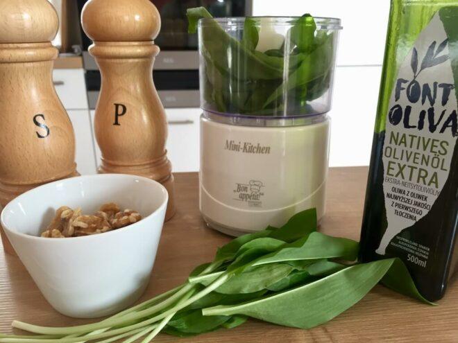 Bärlauch-Pesto vegan