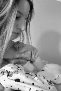 Mama sein die Welt durch Kinderaugen sehen