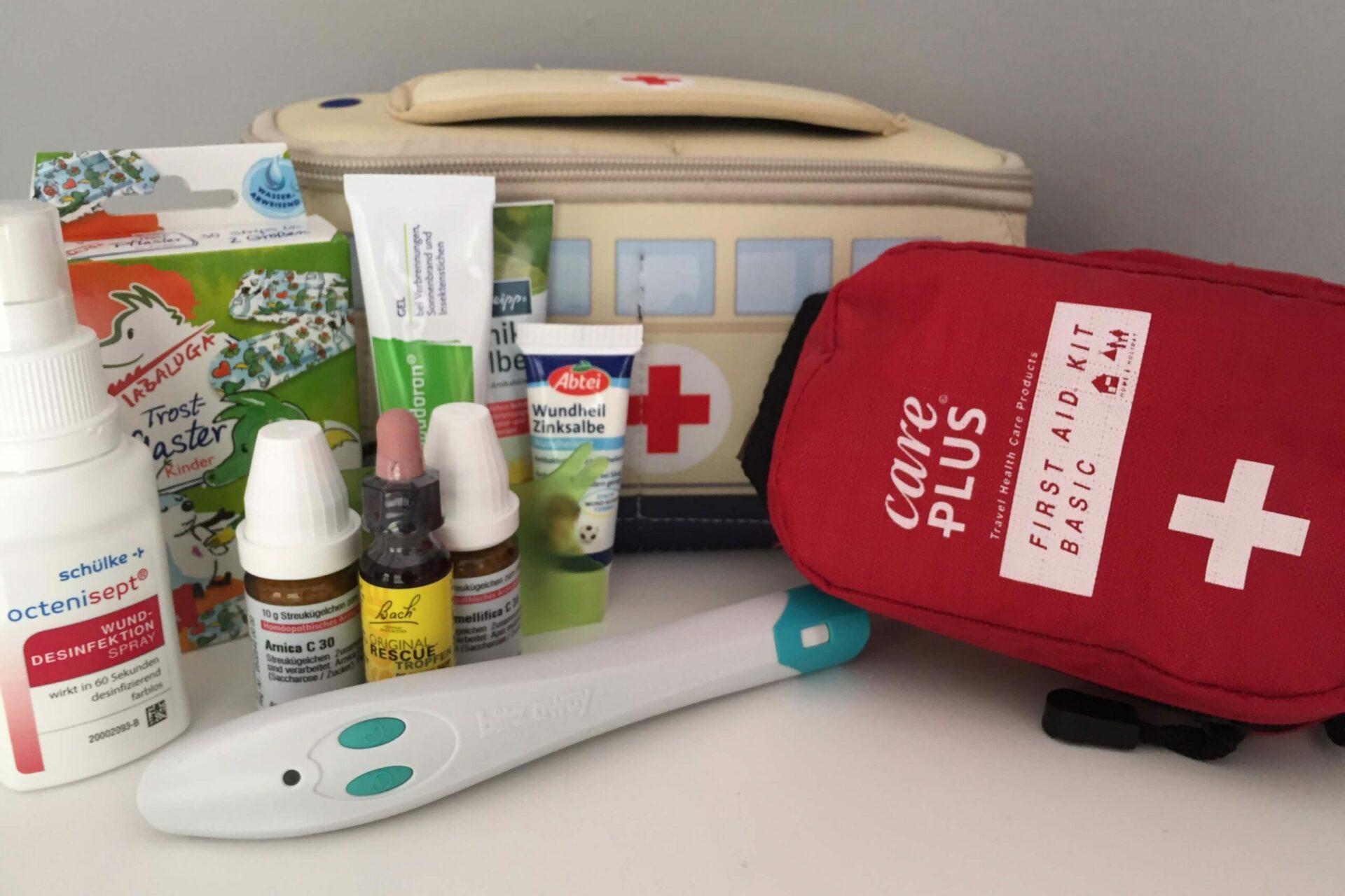 Verbandtasche, Erste Hilfe Tasche Kinder