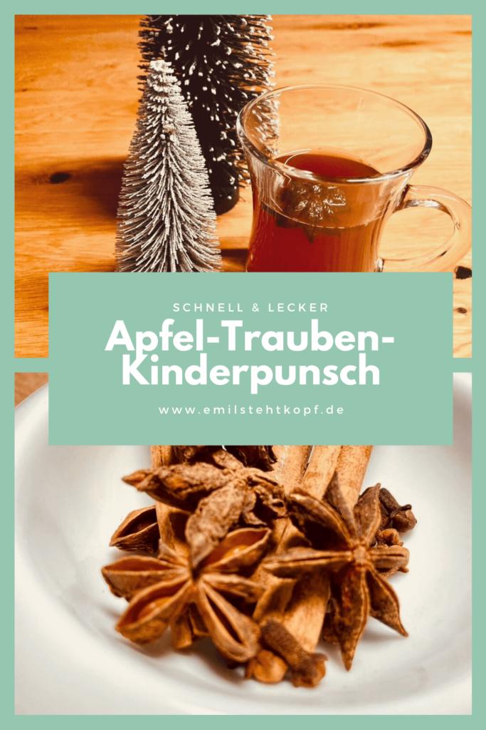 Kinderpunsch - aus Apfel- und Traubensaft
