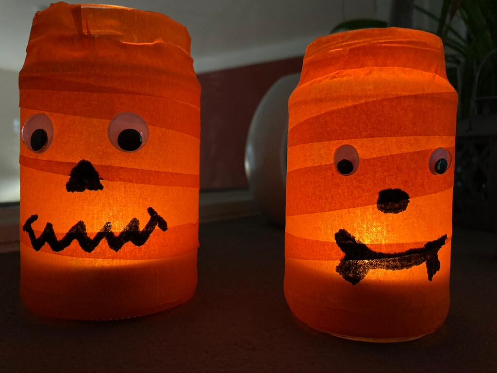 Halloween Mumien Lichter