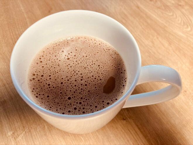 Heiße Schokolade mit Honig - Seelenschmeichler mit Hafermilch