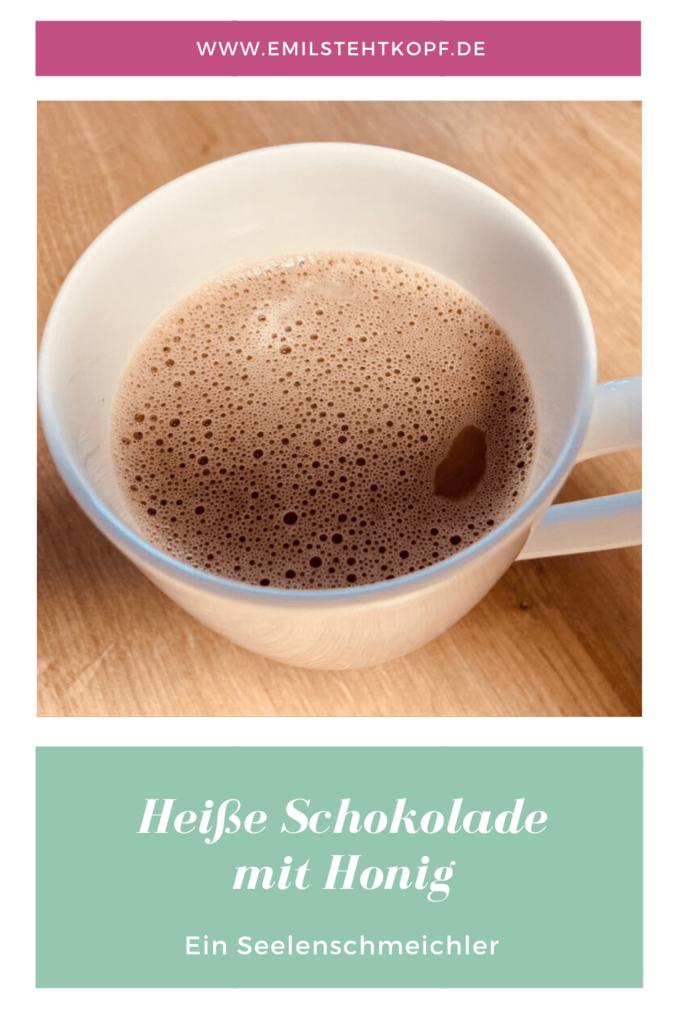 heiße schokolade mit Honig - ein Seelenschmeichler