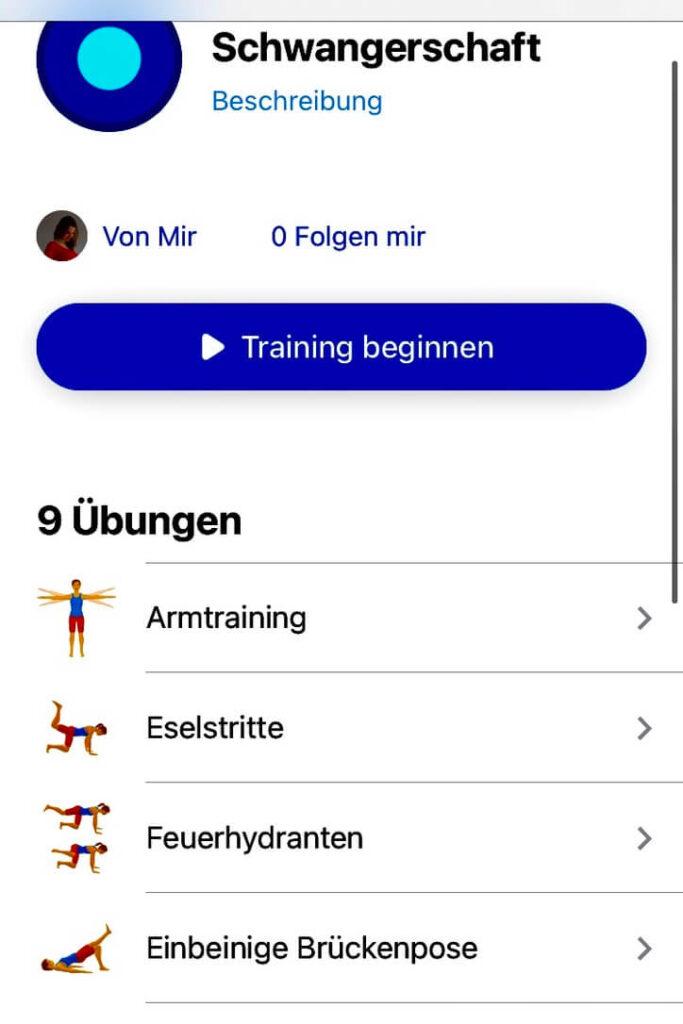 hilfreiche apps für mamas: das schnelle Sportprogramm