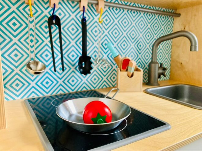 Ikea Kinderküche Duktig pimpen - in drei Schritten