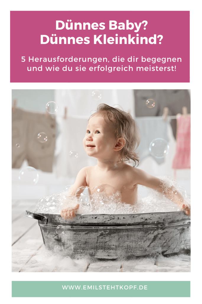 5 Herausforderungen mit einem dünnem Baby, dünnem Kleinkind